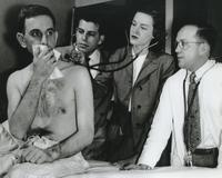 Patient During a Tuberculosis Examination