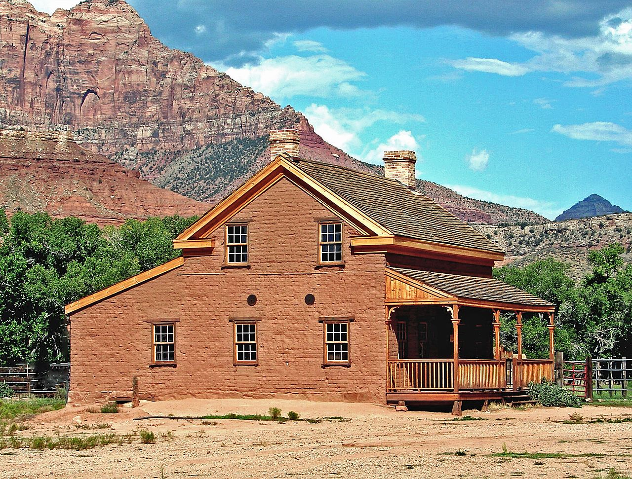 Restored Alonzo Haventon Russell Home--used in the movie Butch Cassidy and the Sundance Kid