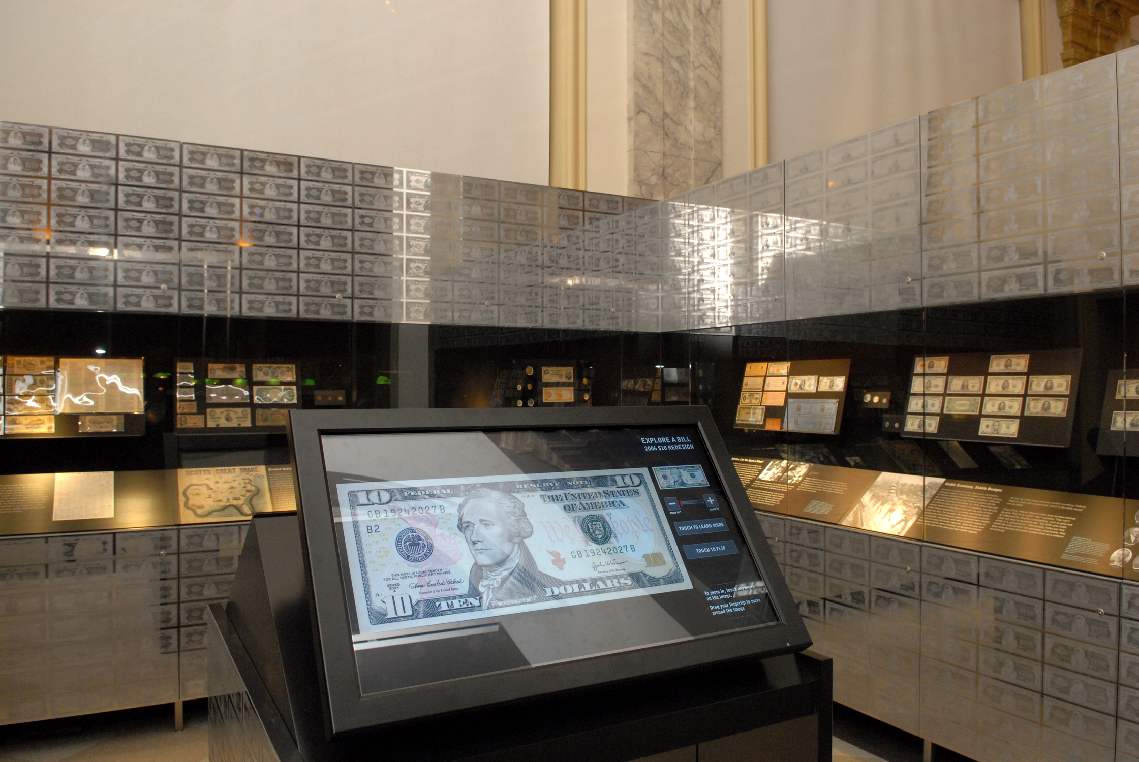 Money Gallery. Image by Elsa Ruiz. Licensed under CC BY-SA 3.0 via Wikimedia Commons.