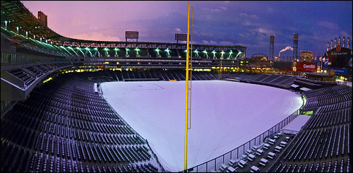 Winter at U.S. Cellular Field