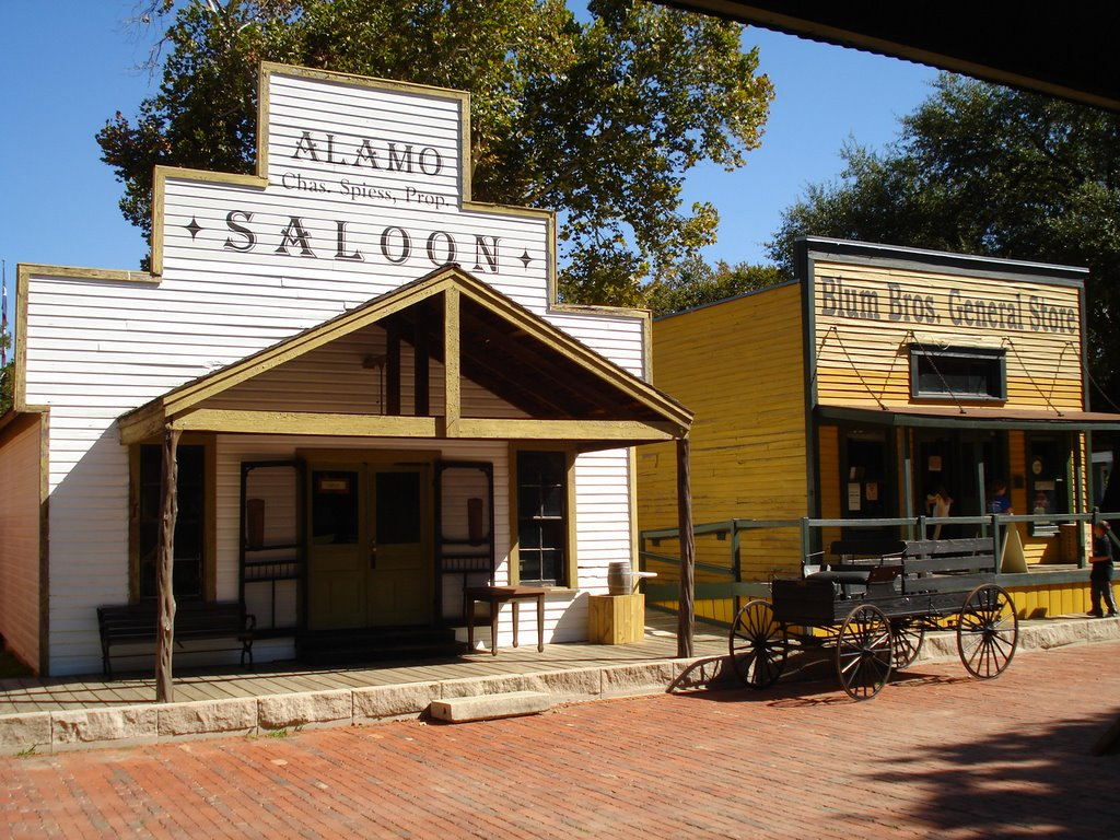 Dallas Heritage Village includes a number of historic buildings that have been restored and filled with antiques and exhibits.