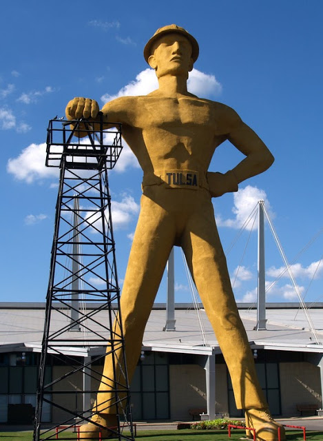 Today's Driller, courtesy of Tulsa Gal.