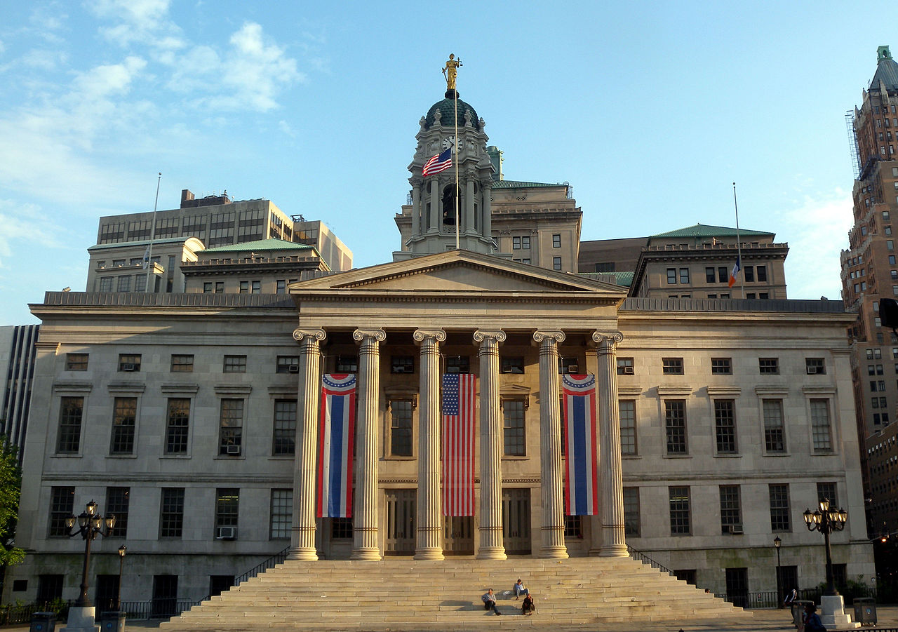 Brooklyn's oldest public building, Brooklyn Borough Hall holds the borough's civic offices.