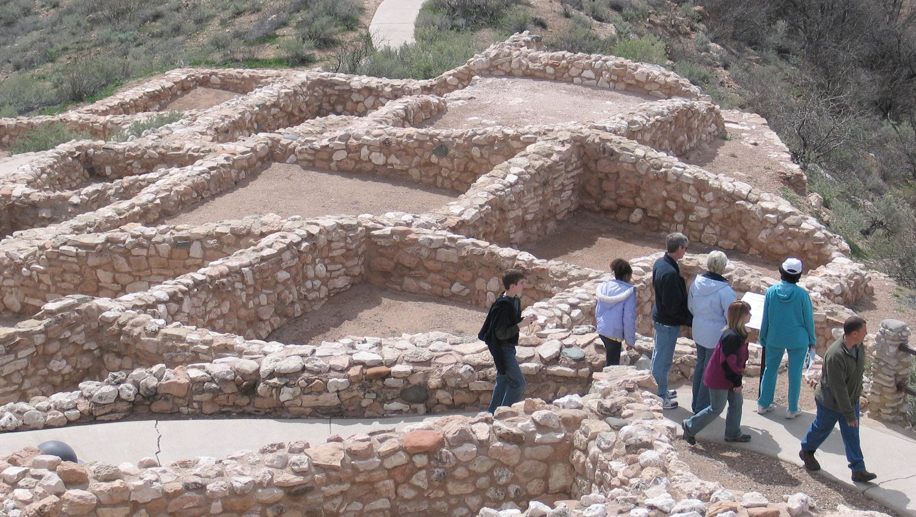 The winding ruins of Tuzigoot