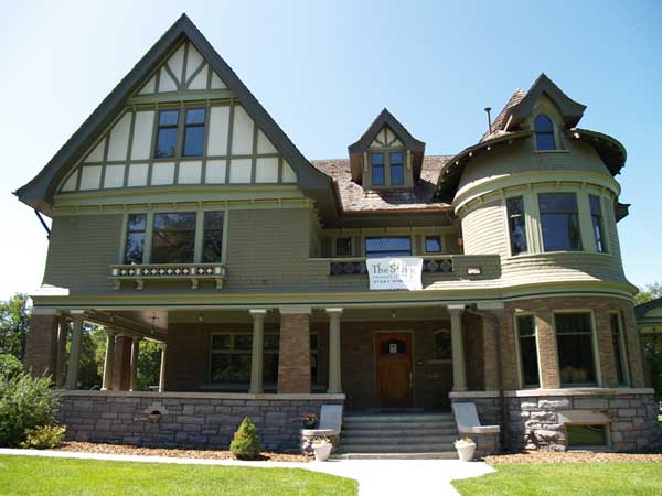 This Tudor revival style mansion was built in 1910 for T.B. Story, son of Montana cattleman and business owner Nelson Story.