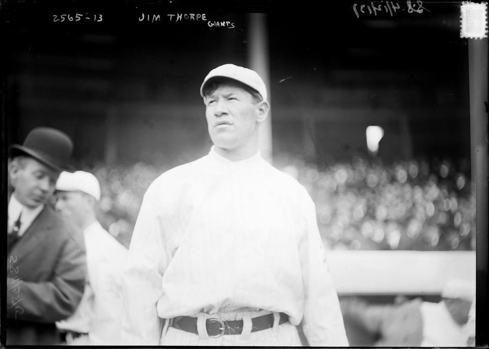Jim Thorpe - Baseball.