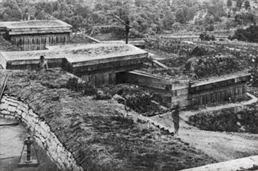 Fort Negley during the Civil War