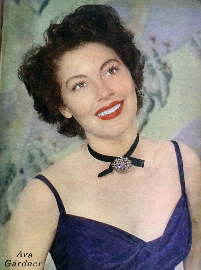 """""""What I`d really like to say about stardom is that it gave me everything I never wanted."""" - Ava Gardner, pictured here in 1949."""