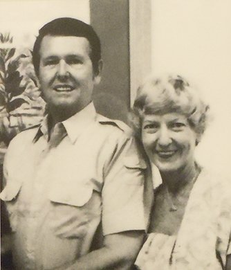 Tom Banks, the originator of the museum, and his wife Lorraine.