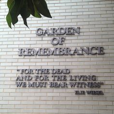 Holocaust Garden and Remembrance courtesy of pineterest