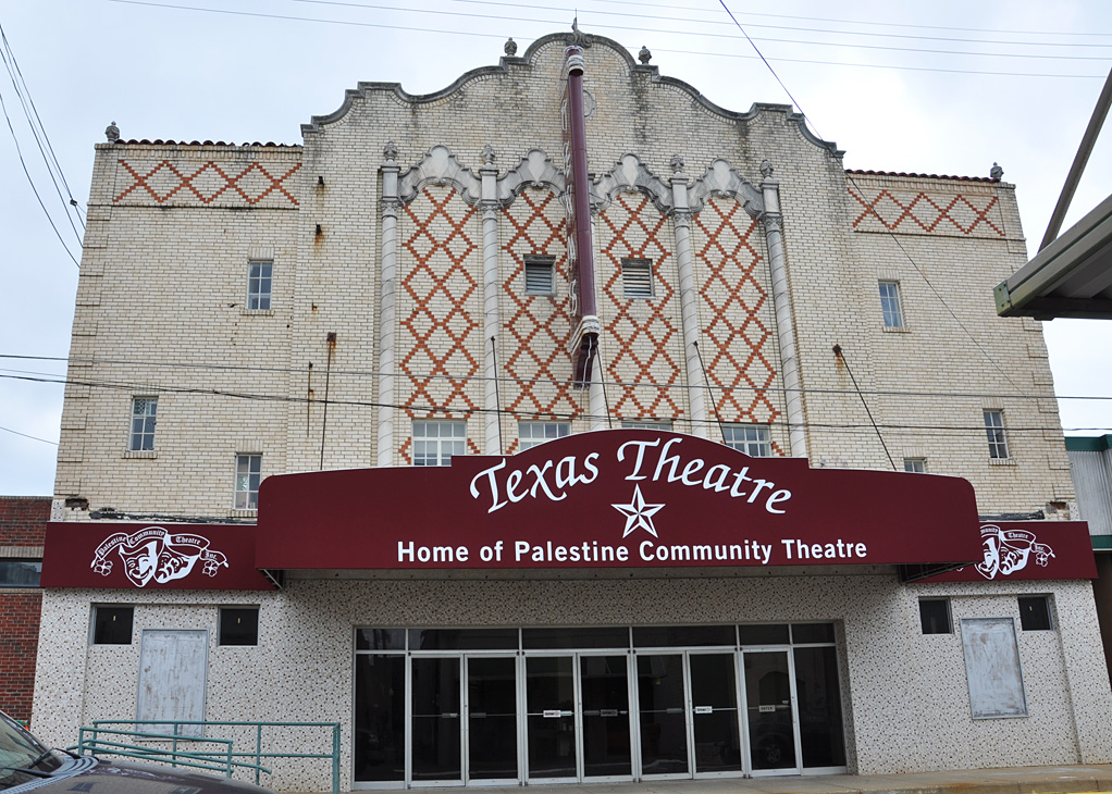 The Texas Theatre opened in 1930.