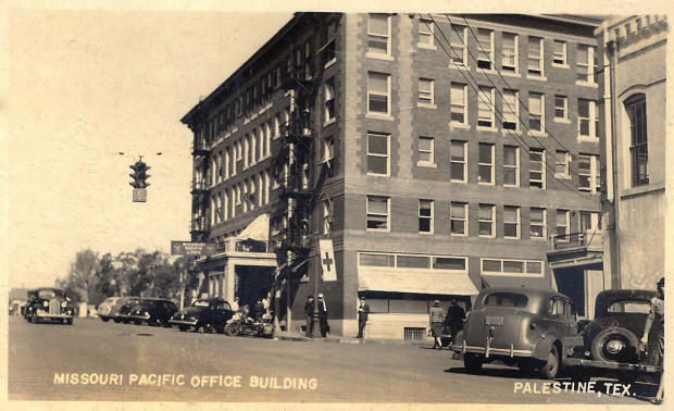 The hotel during the 1930s