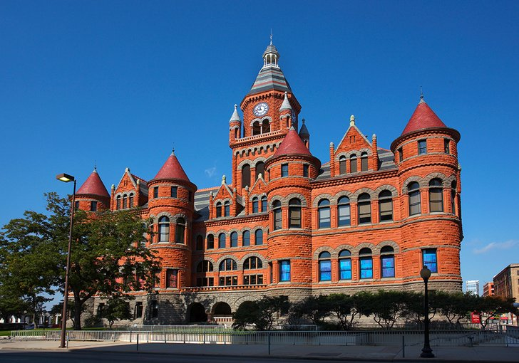 The Old Red Museum of Dallas County History and Culture was built in 1892 as the city's fifth courthouse.