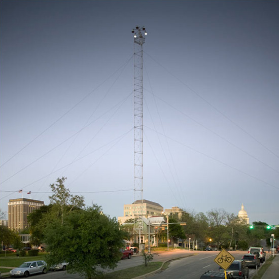 Placed on the National Historic Register on July 12, 1976, the 17 towers are still in use today.