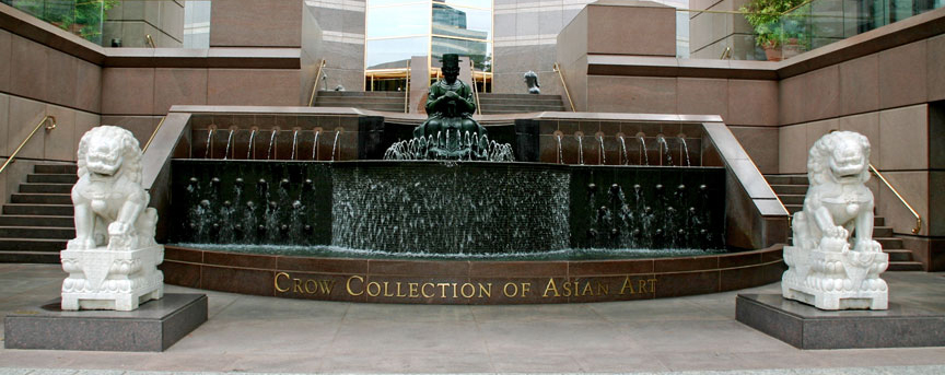 Crow Collection Meditation fountain
