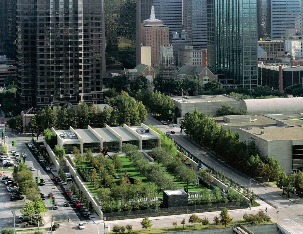 A bird's eye view of the Nasher Center