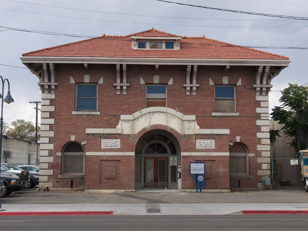 The Nevada-California-Oregon Railroad Depot was built in 1910