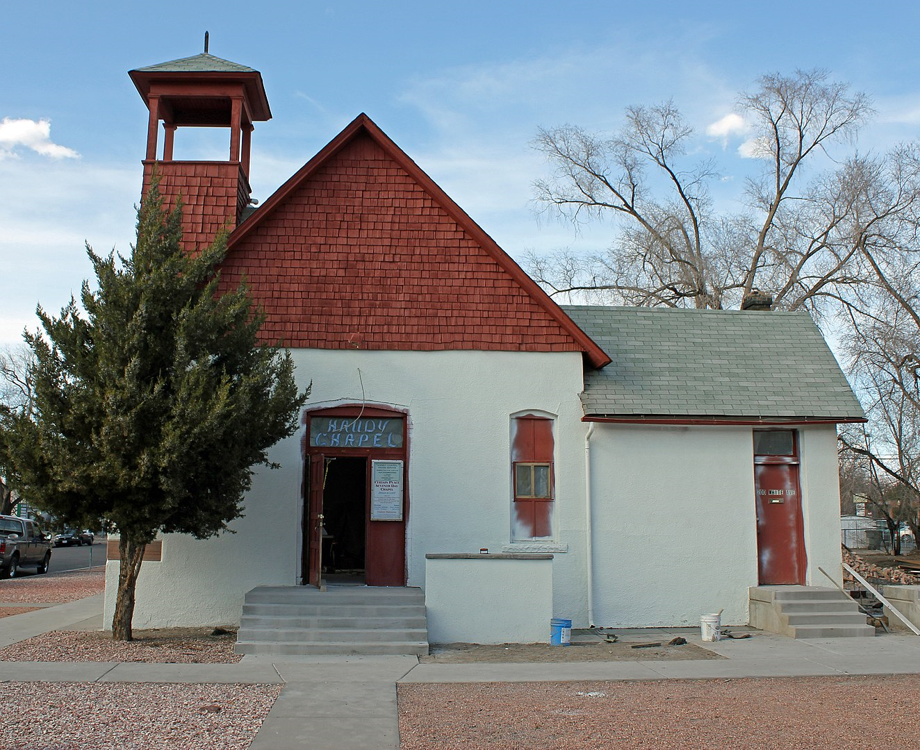 2013 photo of Handy Chapel by Jeffrey Beall