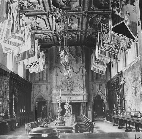Undated photo of dining room