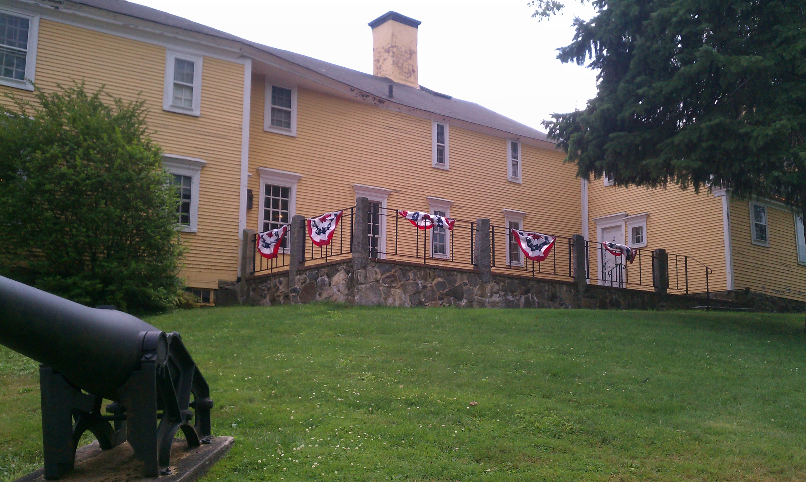The museum is located in the home where a rare copy of the Declaration of Independence was discovered.