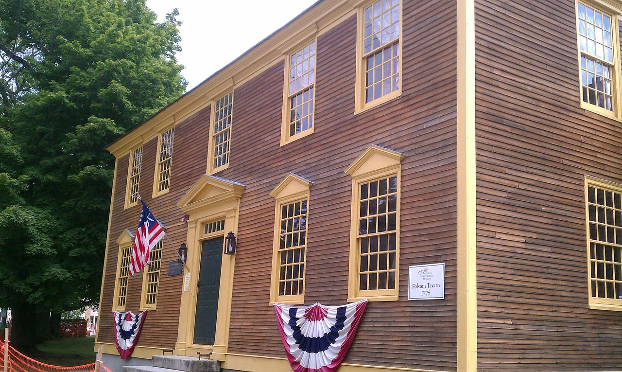 The museum complex also includes the restored Folsom Tavern which was built in 1775. The tavern was home to numerous political debates during the fight for Independence.