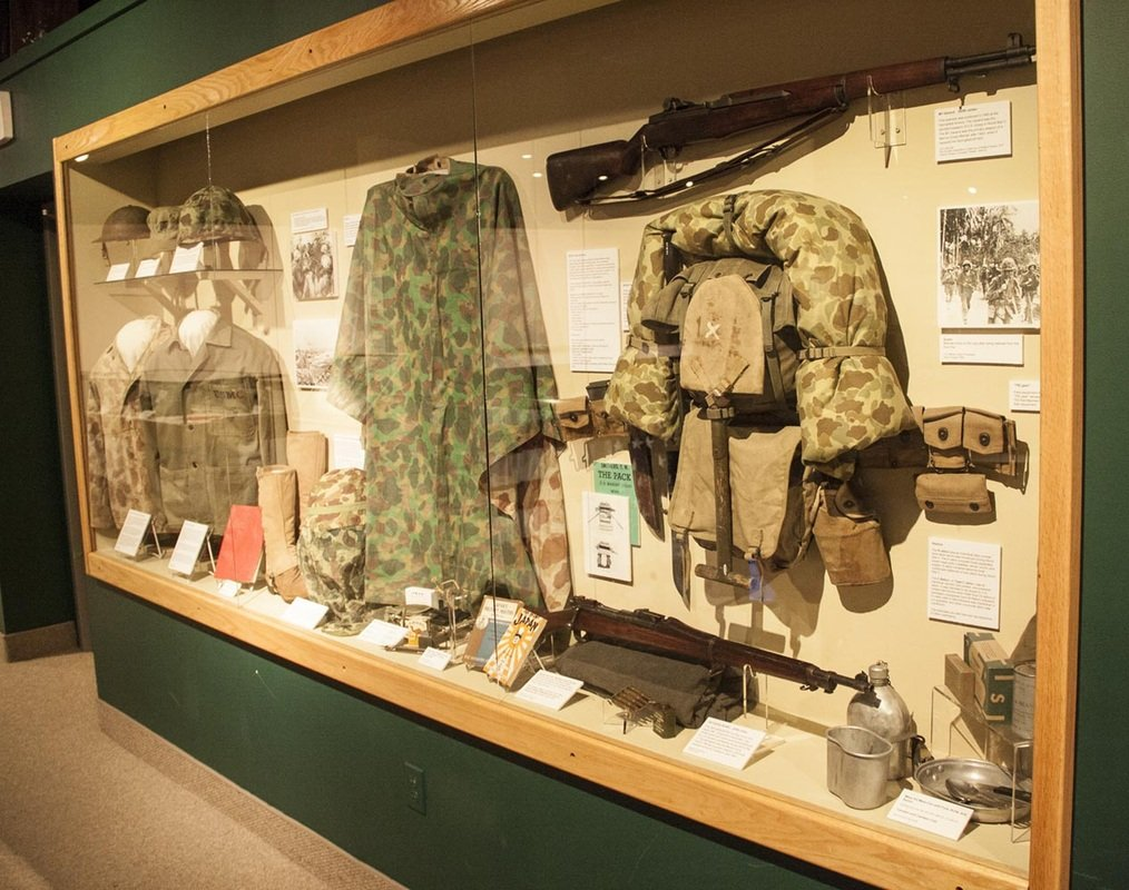 The Marine Exhibit at the Wright Museum (Photo Courtesy of the Wright Museum of World War II)