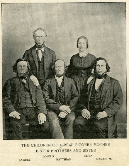 Mathias Hester and his family