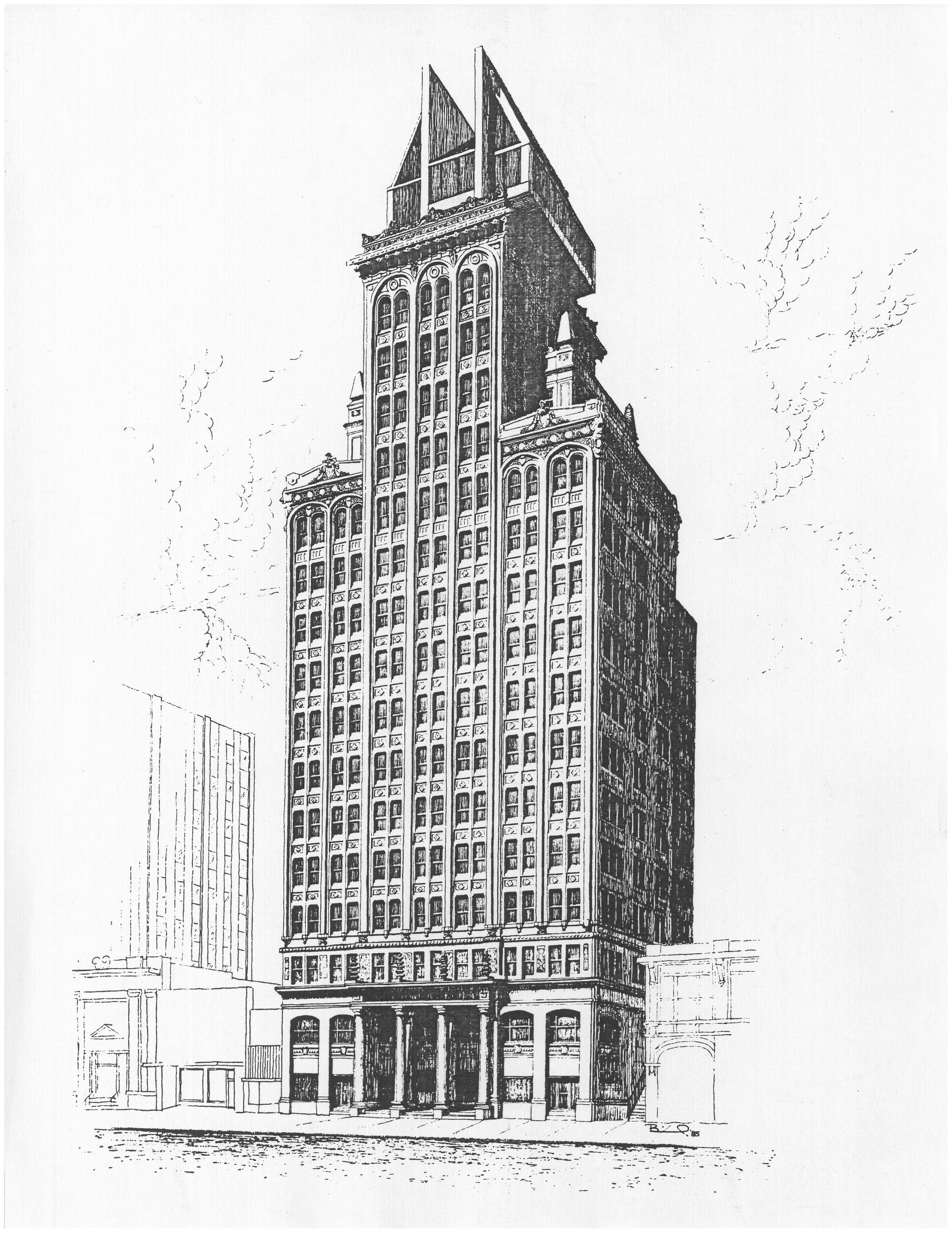 Artist's Rendering of Building