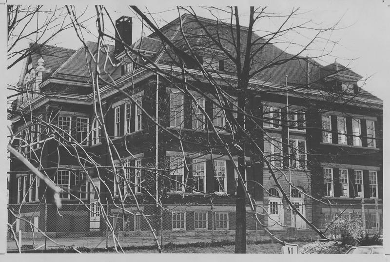 The replacement school building, known as Buffington Elementary, operated from 1898-1976.