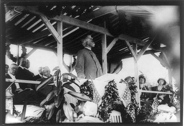 Bennett H. Young, dedicating a Confederate monument in Arlington, Virginia, 1914.