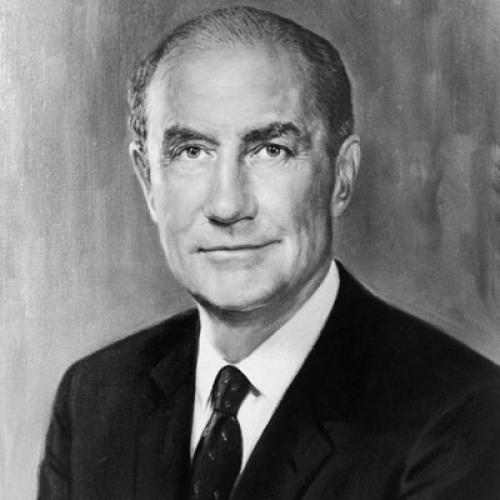 A campaign photograph of the Senator.