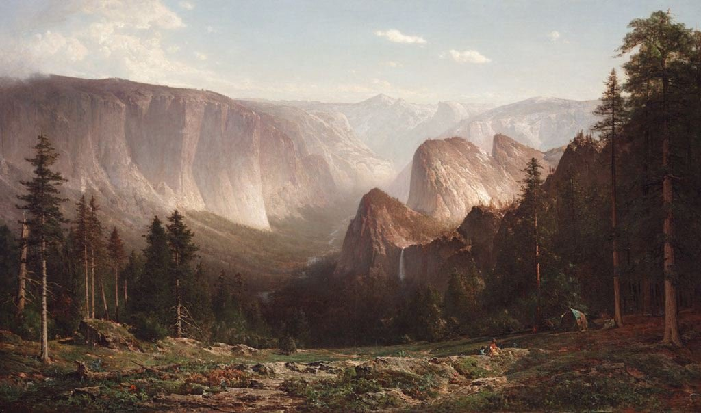 The Crocker has a special focus on collecting and exhibiting Californian art. This painting by landscape artist Thomas Hill captures the beauty of Yosemite Valley. Wikimedia Commons.