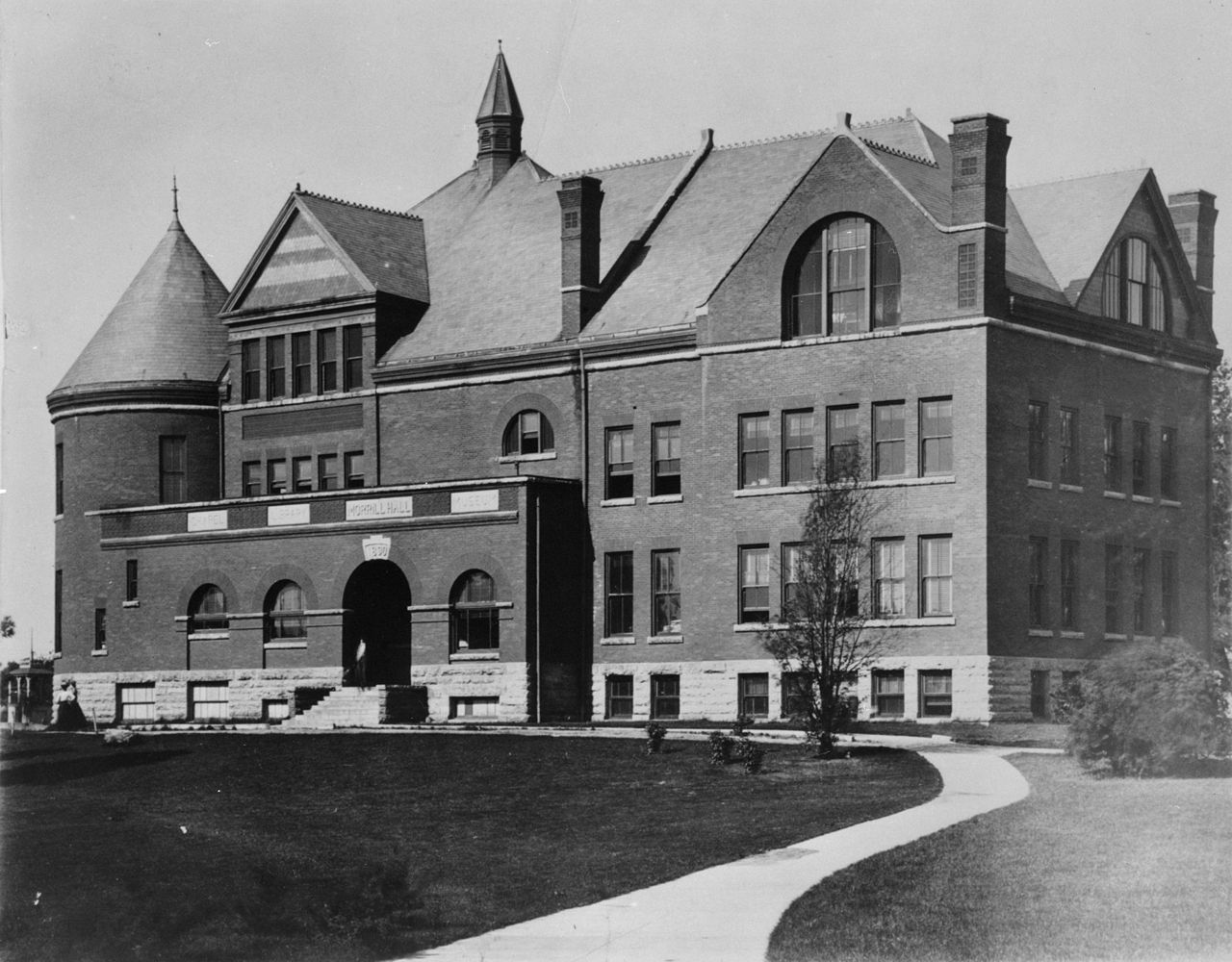 Morrill Hall as it looked early on