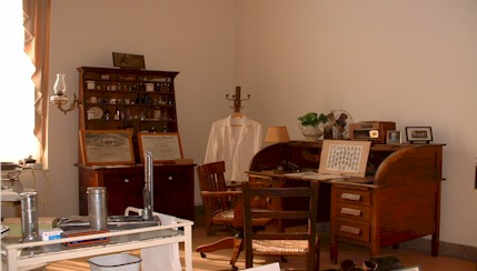 The Museum at Mountain Home offers exhibits related to the history of the hospital and general medical history.