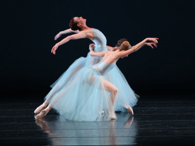Ballet West dancers performing