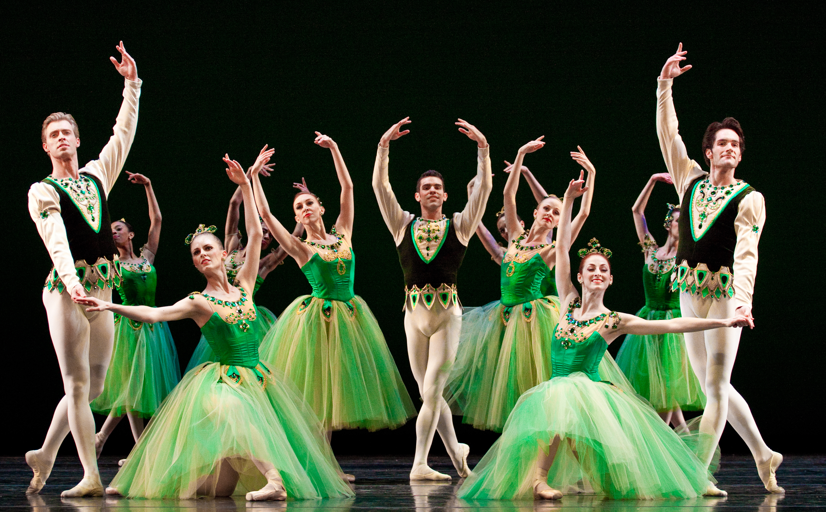 Ballet West cast of Emeralds