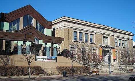 The museum exterior