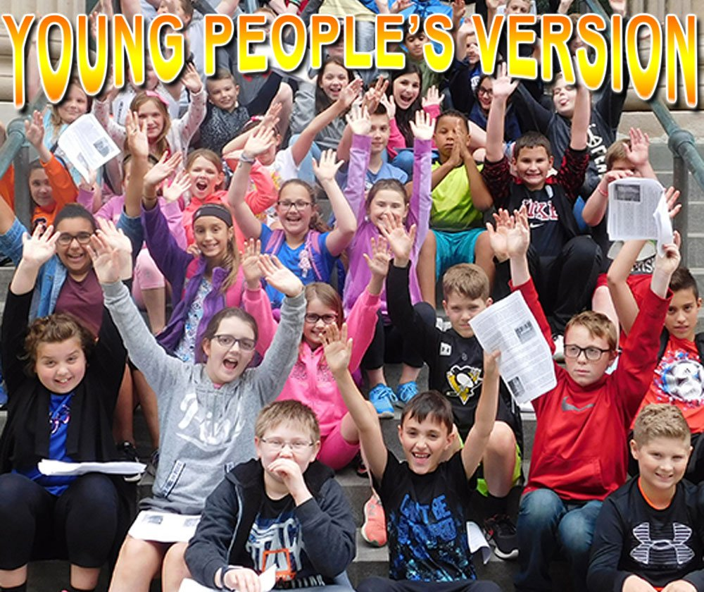 YOUNG PEOPLE'S VERSION - See Comment Section Below.