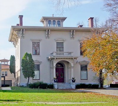 The Center includes seven exhibit galleries, a gift shop, and a research library--all within this beautiful and historic Italianate mansion.
