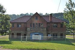 Gassaway Depot in August 2010