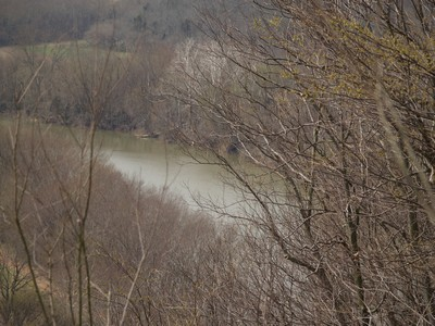 Today's view of the Kentucky River