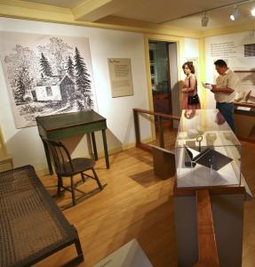 A view of Thoreau at the Concord Museum