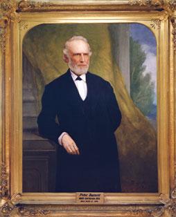 A governor's portrait