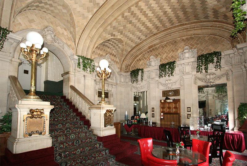 Interior lobby area.