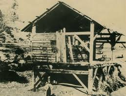 Remains of Sutter's Mill, circa 1850. Library of Congress