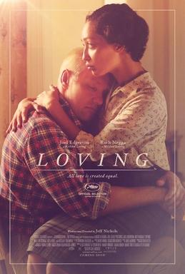 """Poster for 2016 film, """"Loving"""""""
