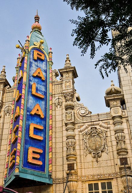 Louisville Palace Theater facade (image from Pinterest)