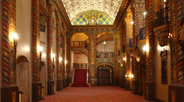 Palace Theater Ceiling of Celebrities Hall (image from Pinterest)