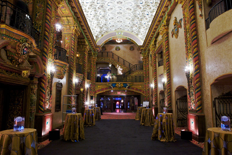 Hallway in the Palace (image from Palace Theater official website)