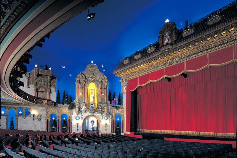 Palace stage (image from Palace Theater official website)